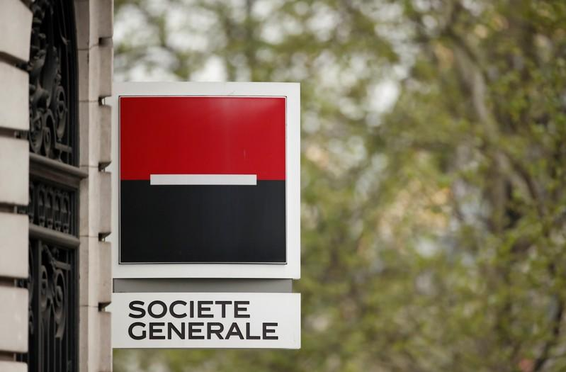 SocGen balance sheet progress lifts shares, outweighs trading weakness