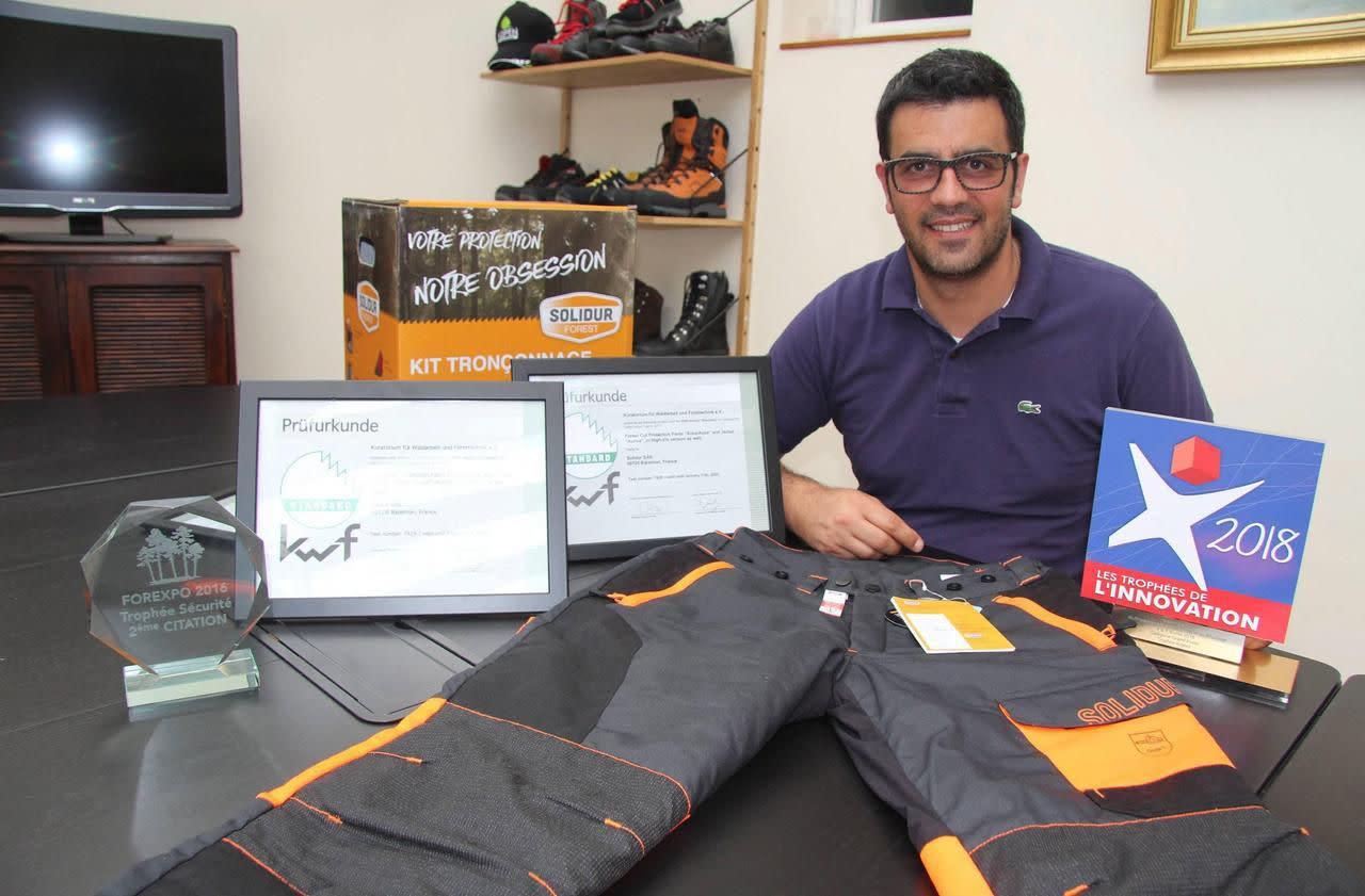 Normandie une entreprise invente un pantalon qui r siste for Creer une entreprise qui rapporte