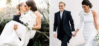 'Everything we wanted': Mo Hope's wedding joy