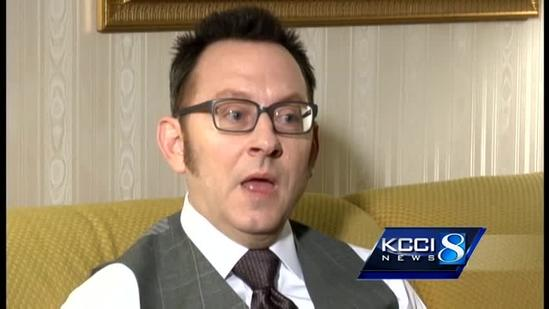 Extra video... Michael Emerson talks about Iowa