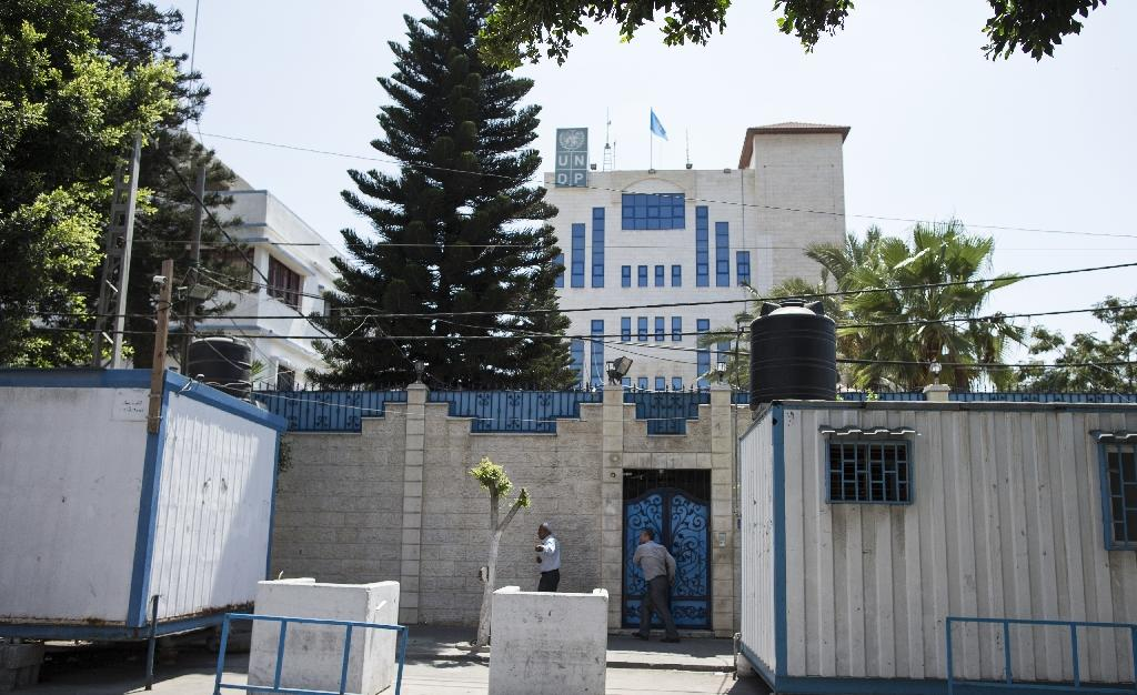 The United Nations Development Programme (UNDP) offices in Gaza City