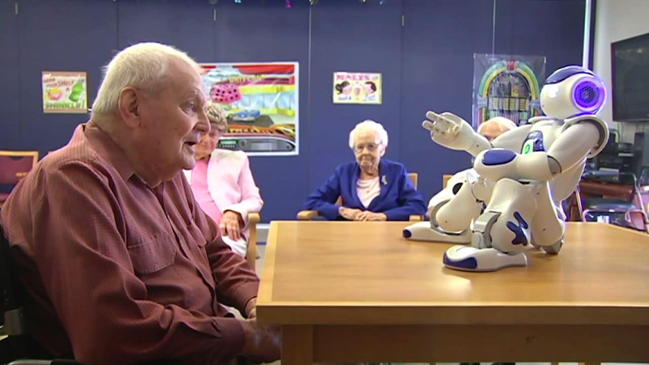 Rencontrez Alice, le robot aidant les patients atteints de démence
