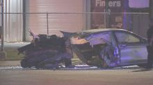 Driver fleeing cops slams into rideshare, killing 2 backseat passengers, Texas cops say