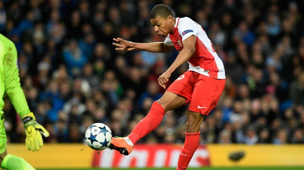 Kylian Mbappe Monaco Champions League