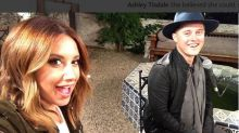 El reencuentro de Ashley Tisdale y Lucas Grabeel 10 años después de 'High School Musical'