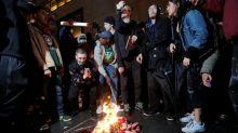 Donald Trump: Flag burning should be illegal
