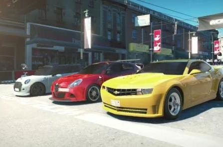 E3 2014: World of Speed trailer pimps its rides