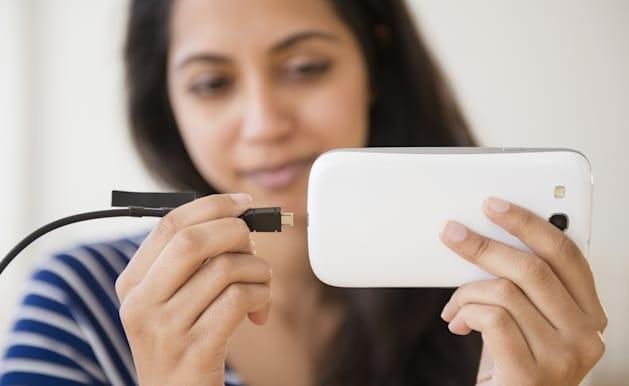 The future of phone chargers: self-aware and integrated into everyday objects