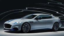 Aston Martin Rapide E opens four doors to the company's electric future