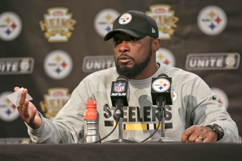 Pittsburgh Steelers head coach Mike Tomlin said he thinks his team can win a Super Bowl. (AP)