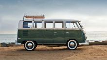 Tired of waiting for the VW I.D. Buzz? Check out this Tesla-powered Microbus
