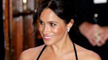 Is Meghan Markle Wearing Body Glitter?