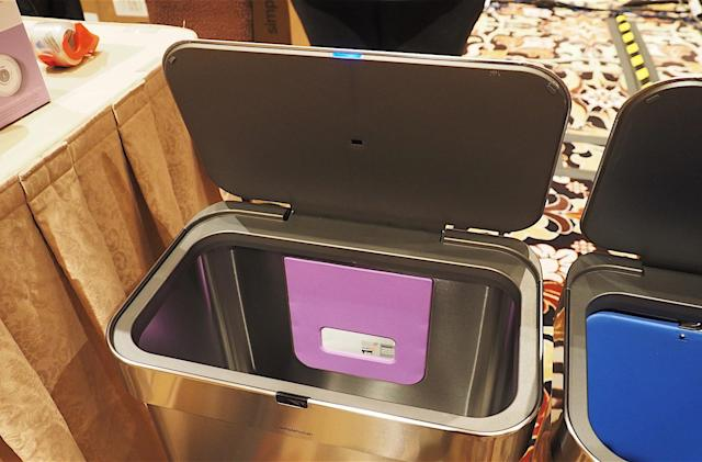 Simplehuman made a trashcan you can open with your voice