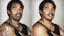 Powerful Photos Show Former Gang Members Without Tattoos