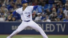 Blue Jays use timely pitching to spoil Encarnacion's return
