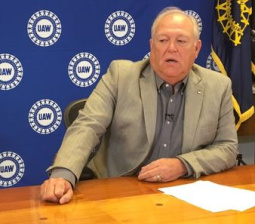 UAW chief says Clinton told him she would renegotiate NAFTA