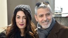 George & Amal Clooney Show Support for Gun Violence Prevention at D.C. March For Our Lives Event