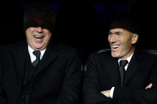 Real Madrid, Zidane ne se sent pas inférieur à Ancelotti