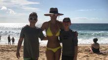 Britney Spears presume de su espectacular figura en bikini a sus 36 años