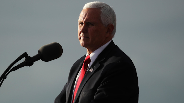 Pence to Georgia voters: Presidential election not over