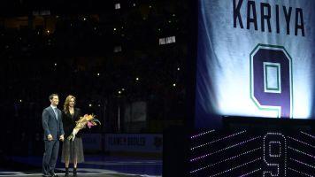 Anaheim Ducks rightfully retire and raise Paul Kariya's No. 9 to the rafters