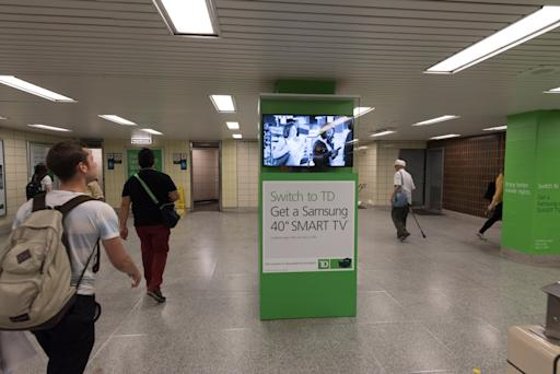 PATTISON Outdoor Launches Station Domination for TD Canada