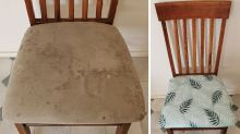 'Looks brand new!': The $5 Kmart tablecloth hack to transform old furniture