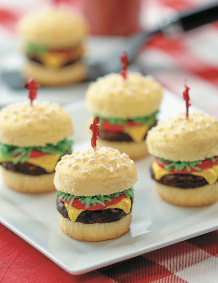 Cake of the Day: Cheeseburger Cupcakes from \'Nerdy Nummies\'