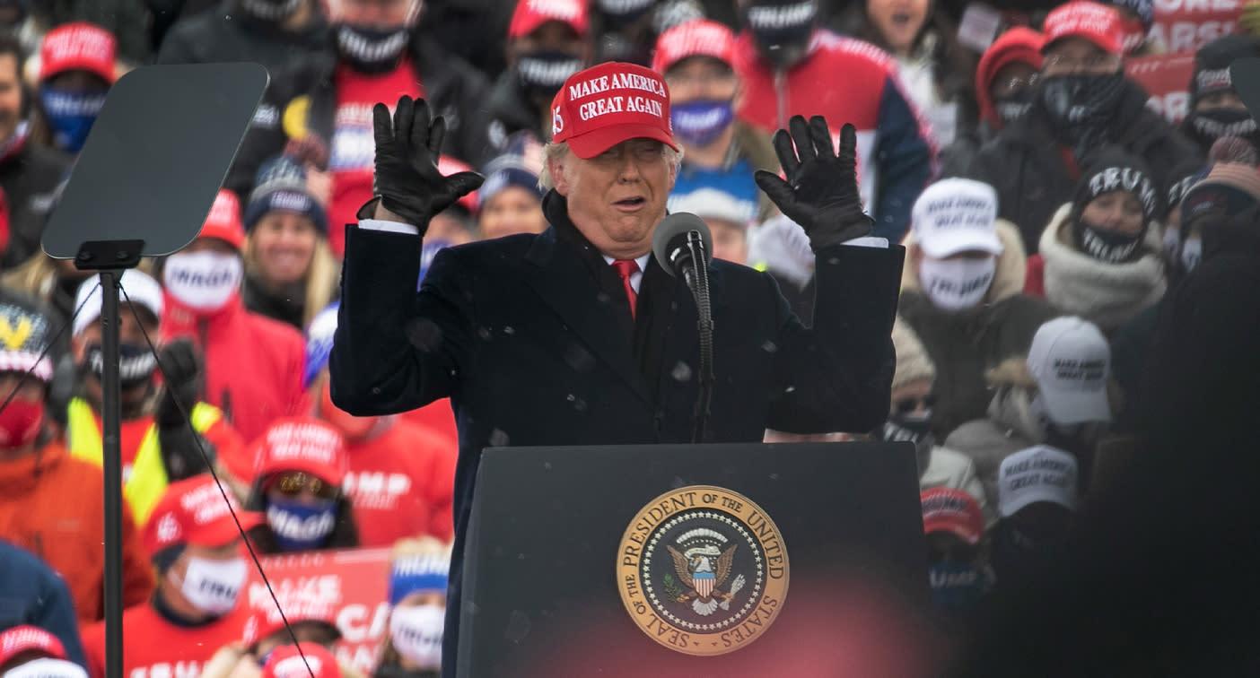 Trump's explosive plan ahead of US election night