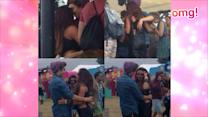UJ's George + LM's Jesy hook up at V Festival?