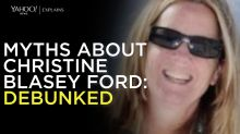 Yahoo News explains: Myths about Christine Blasey Ford debunked