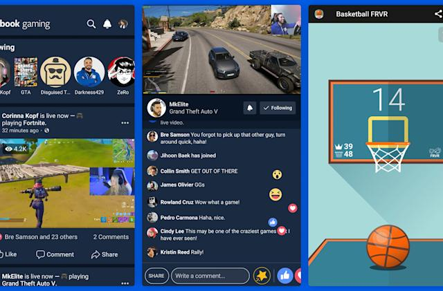 Facebook is releasing a dedicated gaming app tomorrow
