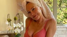 Melanie Griffith, 63, wows in pink lingerie for important message
