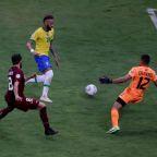 Soccer-Brazil open Copa America with 3-0 win over Venezuela