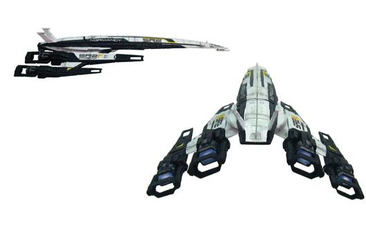 Mass Effect Normandy SR2 Cerberus Variant model up for pre-order