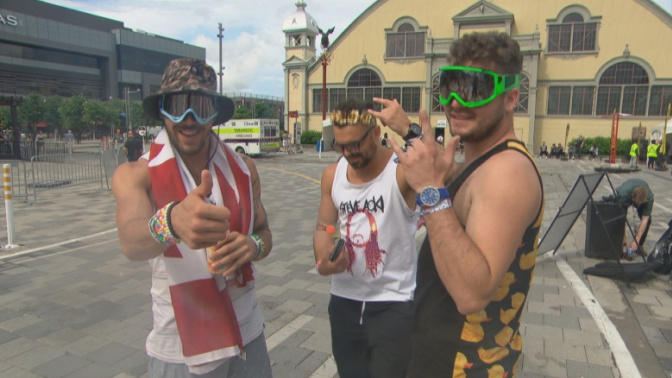 Relocated Escapade music festival stays relatively safe and quiet in the Glebe