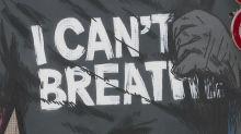 """""""I can't breathe"""" : une fresque en hommage à George Floyd en ouverture du Street Art Fest de Grenoble"""