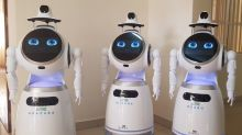 Rwandan medical workers deploy robots to minimise coronavirus risk