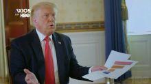Trump malmené sur les chiffres du coronavirus au cours d'une interview