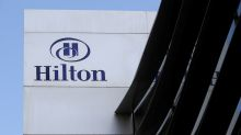 Hilton's better-than-feared forecast drives shares higher amid trade worries