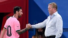 Barcelona coach Ronald Koeman says Lionel Messi's performances 'could be better' after defeat by Getafe