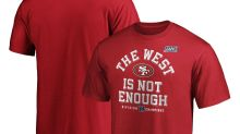 Championship gear: Get your 49ers NFC West title merchandise here