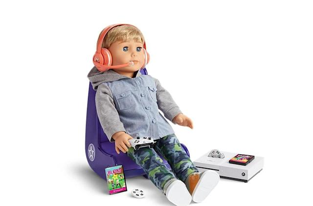 A tiny Xbox One S is the latest American Girl accessory