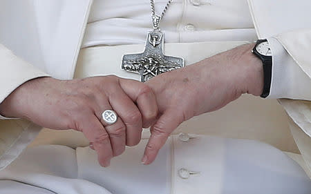 Image result for pope francis ring