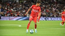 Foot - L1 - Nîmes - Sofiane Alakouch (Nîmes) sorti par précaution contre Nantes