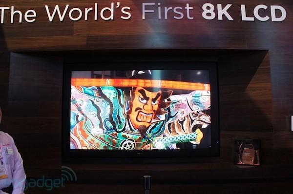 Sharp 8K Super Hi-Vision LCD, 4K TV and Freestyle wireless LCD HDTV hands-on