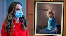 Duchess of Cambridge praises 'iconic' image of pandemic nurse
