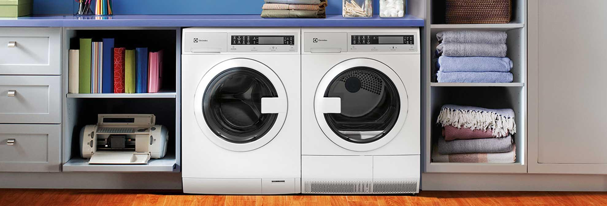 What to know about a compact washer and dryer set - Small space washing machines set ...