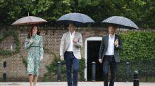 Duchess of Cambridge pays tribute to Princess Diana in Prada