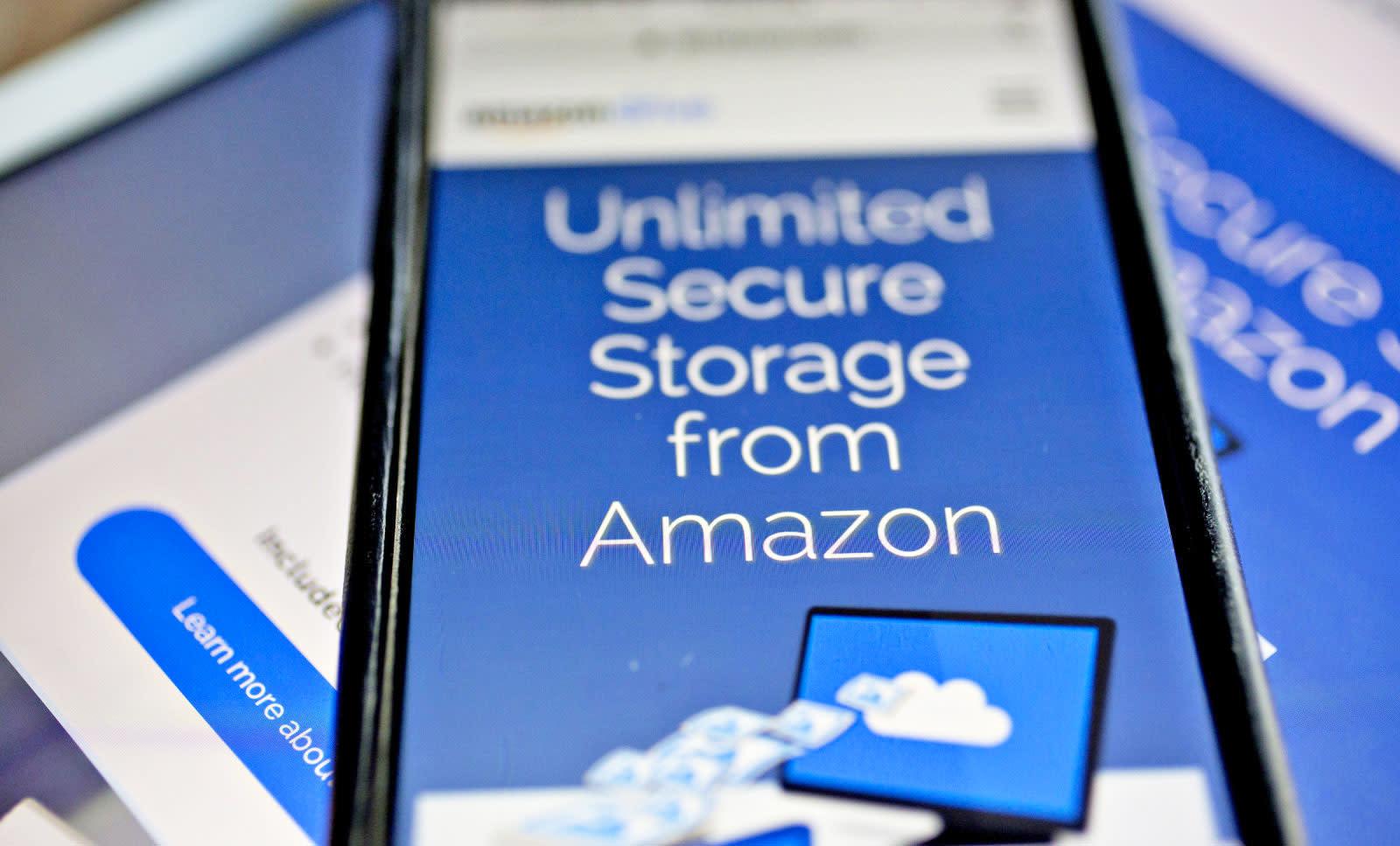 Amazon drops its unlimited cloud storage plan | Engadget